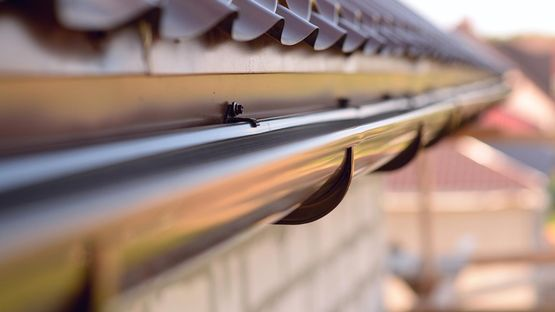 Guttering work done by our team